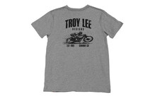 Troy Lee Designs Heritage Tee Men gray